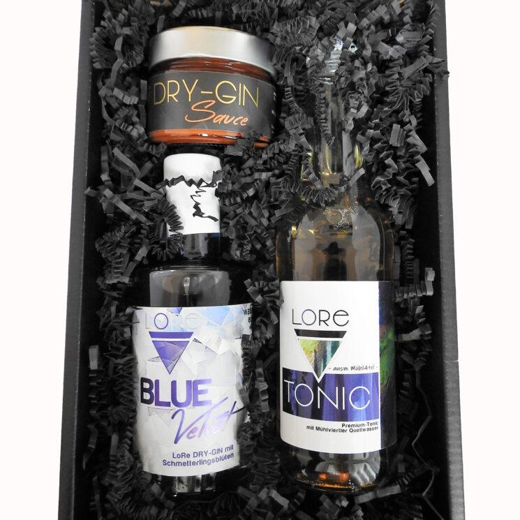 Gin-Geschenkset BBQ - Ginsauce Geschenkbox