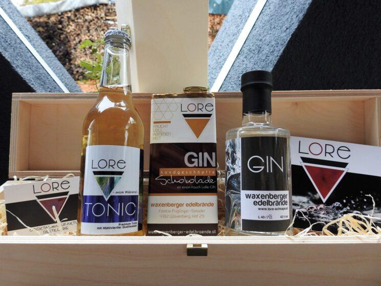 Gin-Tonic-Schoko GeschenkBox