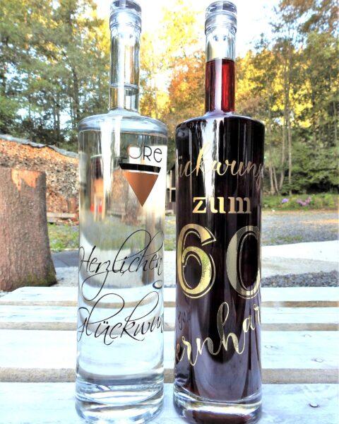 Magnum-Gin-Geschenkflasche personalisiert