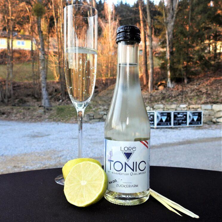 österreichisches Tonicwater - weniger Zucker